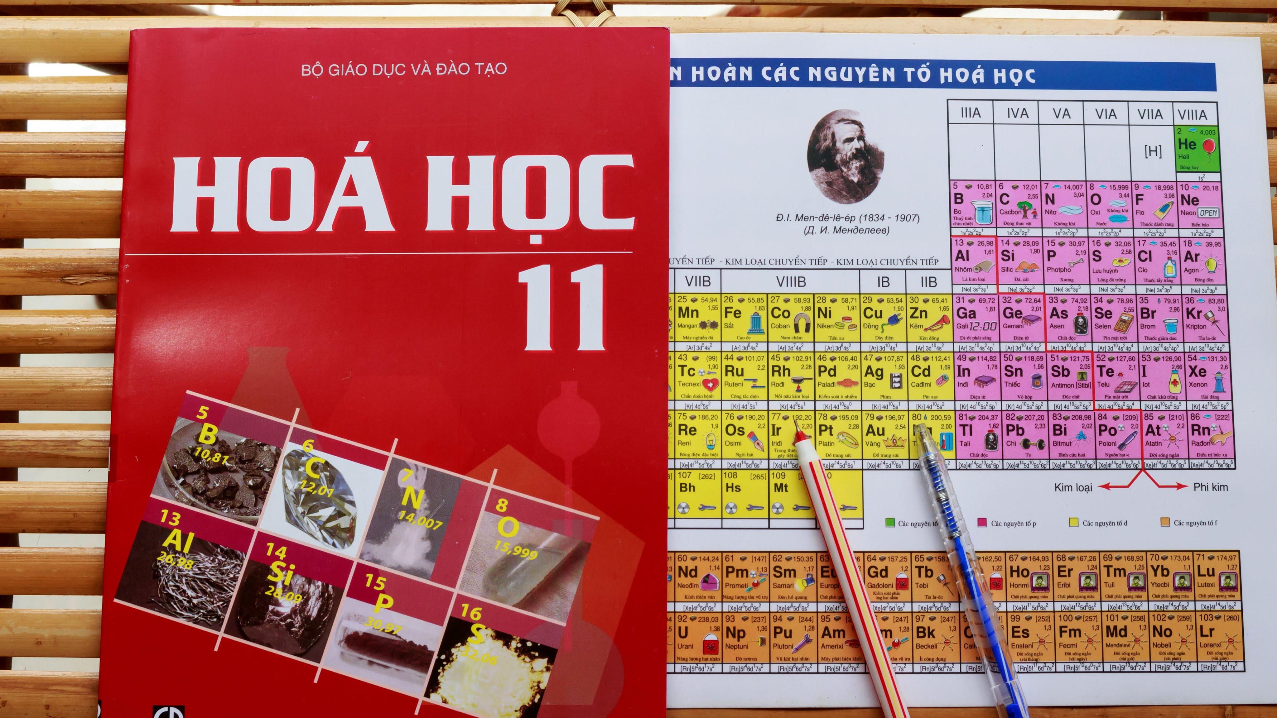 Tìm sinh viên dạy kèm môn Hóa lớp 11 tại nhà