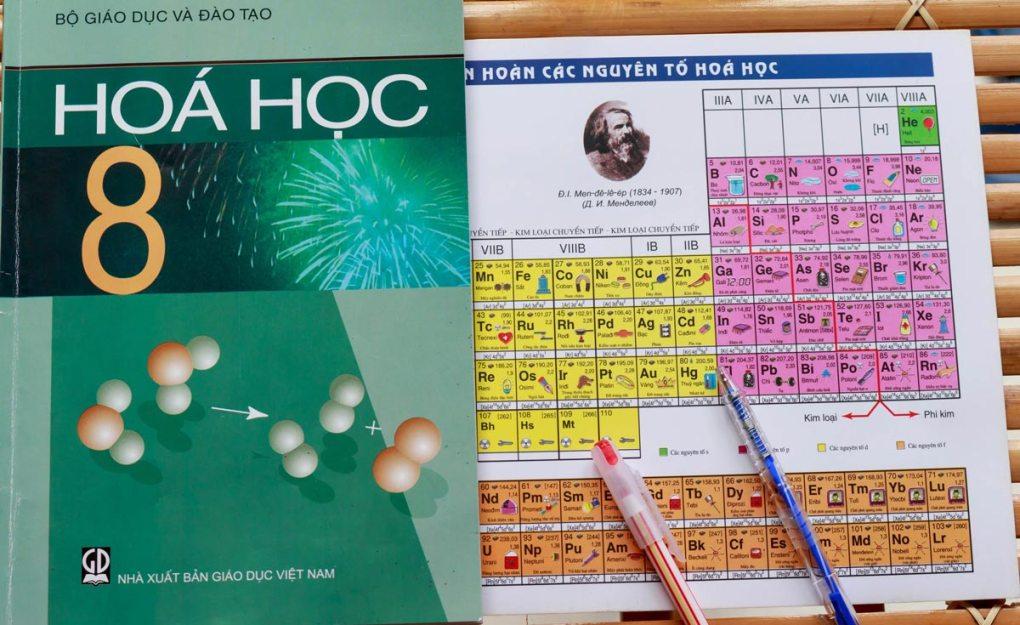 Tìm sinh viên dạy kèm môn Hóa lớp 8 tại nhà